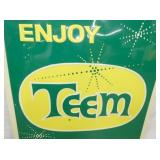 VIEW 2 CLOSEUP ENJOY TEEM EMB. SIGN