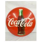24IN TIN COKE BUTTON W/ BOTTLE