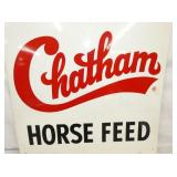VIEW 2 CLOSEU CHATHAM  HORSE FEED SIGN