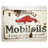 16X24 PORC. GARGOYLE MOBILOIL FLANGE