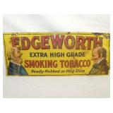 12X28 EMB. EDGEWORTH TOBACCO SIGN
