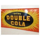 VIEW 2 CLOSEUP EMB. DOUBLE COLA SIGN