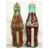 1923 DIE CUT COKE BOTTLE THERMS.