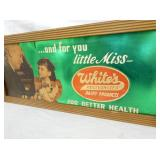 VIEW 2 WHITES SIGN W/ FRAME