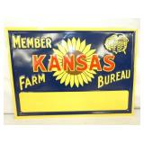 10X13 EMB. KANSAS FARM MEMBER SIGN