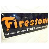 VIEW 2 CLOSEUP FIRESTONE PORC. SIGN