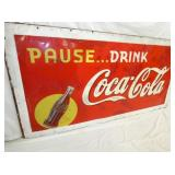 VIEW 2 CLOSEUP LEFTSIDE COKE SIGN