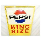 VIEW 2 CLOSEUP TOP KING SIZE EMB. PEPSI