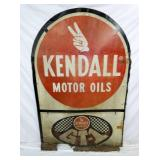 48X72 KENDALL MOTOR OILS SIGN