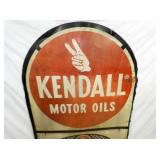 VIEW 2 CLOSEU KENDALL MOTOR OILS SIGN