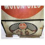 VIEW 3 BOTTOM GT1 MOTOR OIL SIGN