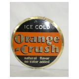 10IN ORANGE CRUSH SIGN