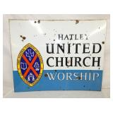 VIEW 2 OTHERSIDE UNITED CHURCH SIGN