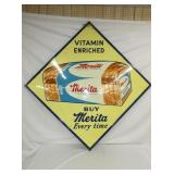64X64 1959 MERITA BREAD SIGN