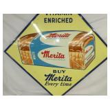 VIEW 2 CLOSEUP MERITA BREAD SIGN