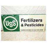 34X82 USS EMB. FERTILIZER SIGN