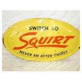 27X47 BUBBLE EMB. SQUIRT SIGN