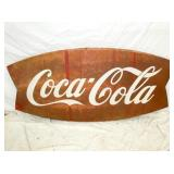 34X72 COKE FISH TAIL SIGN