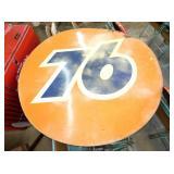 72IN. FIBERGLASS 76 SIGN