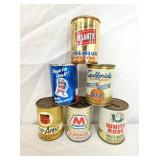 EARLY COIN BANK TINS