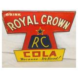 VIEW 2 CLOSE UP EMB. ROYAL CROWN DIE CUT SIGN