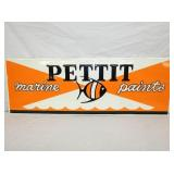 14X40 EMB. PETTIT PAINTS SIGN