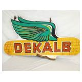 33X63 WOODEN DEKALB SPINNER SIGN