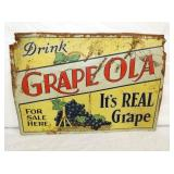 14X20 GRAPE OLA EMB SIGN