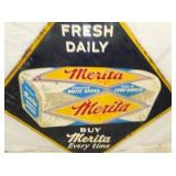 VIEW 2 CLOSE UP MERITA BREAD DIAMOND SIGN