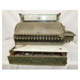 BRASS NATIIONAL 356G CASH REGISTER