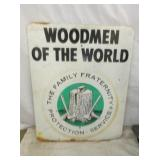 24X30 WOODMEN OF THE WORLD SIGN
