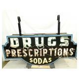 36X75 DRUGS SODA NEON SIGN