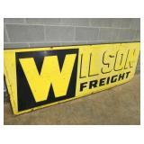 VIEW 2 CLOSEUP WILSON FREIGHT SIGN