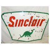 5X7 PORC. SINCLAIR DINO SIGN