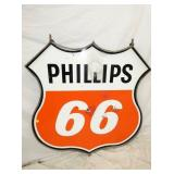 VIEW 2 1960 PHILLIPOS 66 SHIELD SIGN