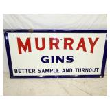 37X72 PORC. MURRAY GINS SIGN