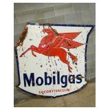72IN PORC. MOBILGAS PEGIUS SIGN