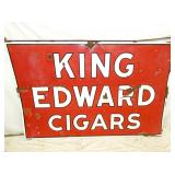 46X70 PORC. KING EDWARD CIGARS SIGN