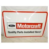 48X72 NOS FORD MOTORCRAFT SIGN