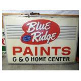 52X74 BLUERIDGE PAINTS LIGHTED SIGN