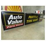 VIEW 2 AUTO VALUE LIGHTED SIGN