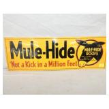 8X24 EMB. MULE HIDE SIGN