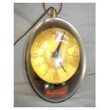 12X24 BUDWEISER LIGHTED CLOCK
