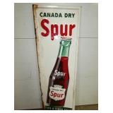 19X55 EMB. SPUR CANADA DRY VERTICAL SIGN