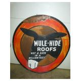 47IN MULE HIDE ROOFS SIGN