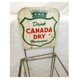 VIEW 2 CLOSEUP CANADA DRY RACK SIGN