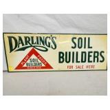 12X32 DARLINGS EMB. SOIL BUILDERS SIGN