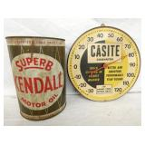 CASITE THERM., KENDALL OIL CAN