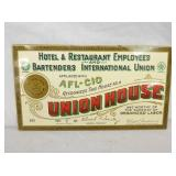 6X11 UNION HOUSE HOTEL & REST SIGN