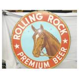 35IN ROLLING ROCK BEER SIGN